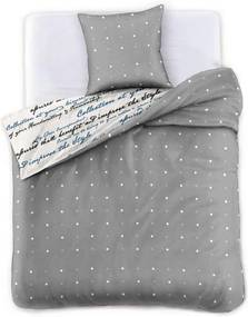 Lenjerie de pat din bumbac satinat DecoKing Clarity, 200 x 220 cm