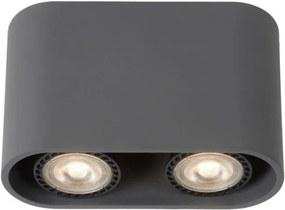 Lucide 09914/10/36 - Lampa spot LED BENTOO-LED 2xGU10/4,5W/230V gri