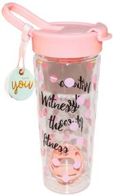 Sticla pentru apa si shake-uri proteice - Witness The Fitness