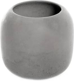 Pahar de beton pentru periuțe Iris Hantverk, gri