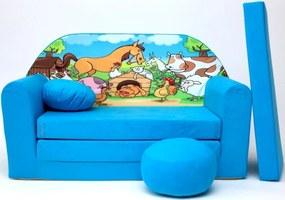 Canapea extensibilă pentru Copii-Farm B 5+