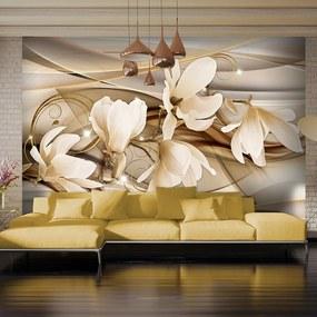 Fototapet Bimago - Dance of Flowers + Adeziv gratuit 250x175 cm