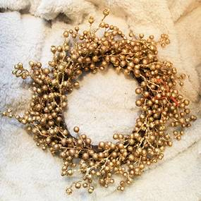 Coronita Golden Berries 40 cm