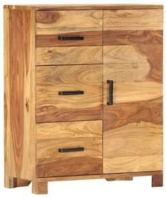 287333 vidaXL Servantă, 58 x 30 x 75 cm, lemn masiv de sheesham