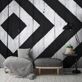 Fototapet - Spațiu alb și negru (152,5x104 cm), în 8 de alte dimensiuni noi