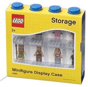 LEGO - Cutie albastra pentru 8 minifigurine