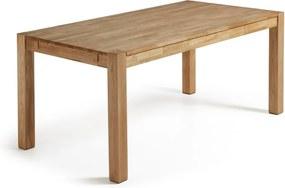 Masă extensibilă de dining din lemn de stejar La Forma, 140 x 90 cm