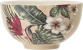 Bol din ceramică Bloomingville Aruba Jungle