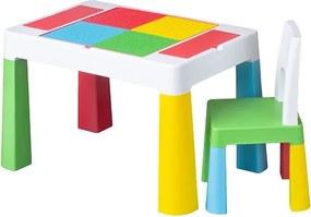 Masuta Multifun cu Scaunel Multicolor