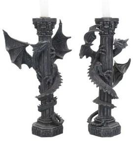 Set suporturi lumânări Gardienii luminii