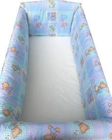 Aparatori Maxi Ursuleti pe albastru 120x60 cm