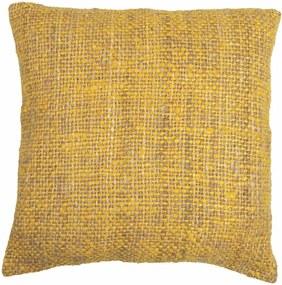 Față de pernă Tiseco Home Studio Chambray, 45 x 45 cm, galben