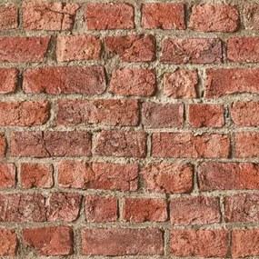 Arthouse Tapet - Farm Brick Farm Brick Red