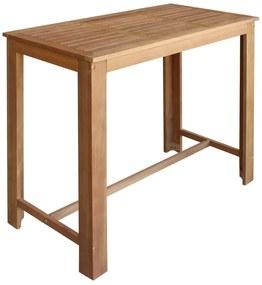 Masă de bar din lemn masiv de acacia 150 x 70 x 105 cm