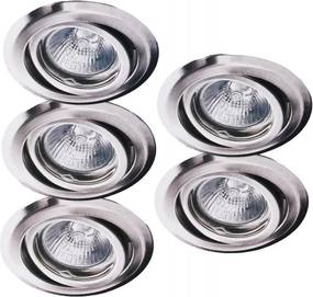 SET 5x Corp de iluminat tavan fals 5xGU5,3/20W/230V/12V