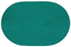 Suport farfurii oval 30x45cm verde Hawaii