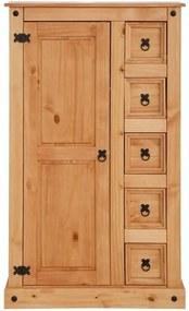 Dulăpior din lemn masiv de pin Støraa Alfredo