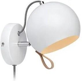 Lampa de perete alba Ball Wall White | MARKSLÖJD