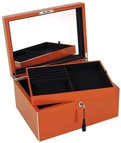 Cutie pentru bijuterii portocalie Neo Tang