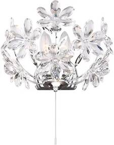 Aplica xE14 crom-cristal Juliana Globo Lighting 5132-2W