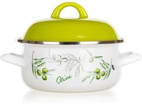 Banquet Castron smălţuit Olives 22 cm, 22 cm