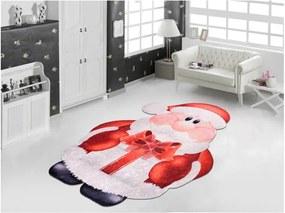 Covor Vitaus Santa, 80 x 150 cm, roșu-alb
