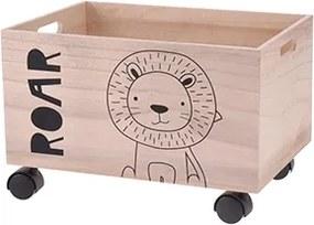 Cutie din lemn Kids 38x27 cm - modele diverse