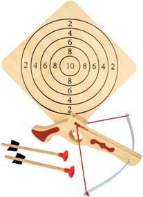 Set arc și săgeți din lemn Legler Crossbow Small