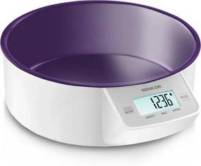 Cântar de bucătărie Sencor SKS 4004VT, violet