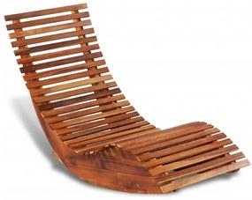 42652 vidaXL Balansoar șezlong din lemn de acacia