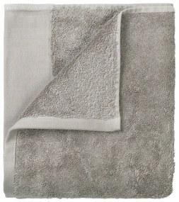 Set 4 prosoape pentru mâini Blomus. 30 x 30 cm, gri