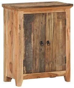 320383 vidaXL Servantă, 60 x 33 x 75 cm, lemn masiv de acacia/lemn reciclat