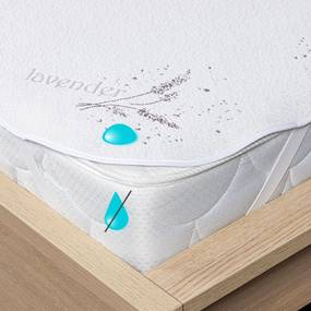 Protecție saltea 4Home Lavender impermeabilă cu elastic,  60 x 120 cm, 60 x 120 cm