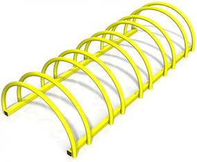Suport rastel bicicleta cu 5 sloturi -model 0022-5 Galben