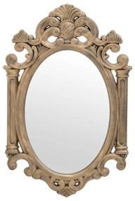Oglinda perete din lemn Antique Gold 43 cm x 65 cm