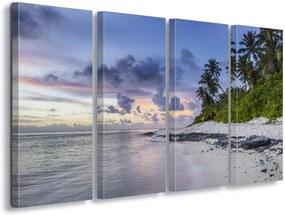 GLIX Tablou - Island Stroll 60x40 cm