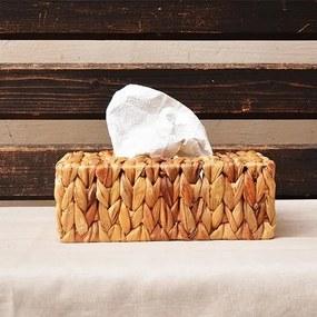 Cutie din fibre impletite pentru servetele 25x15 cm