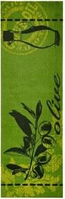 Covor de bucătărie Zala Living Olive, 50 x 150 cm, verde