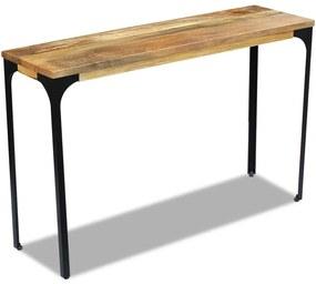 243339 vidaXL Masă consolă din lemn de mango, 120x35x76 cm