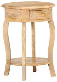 321789 vidaXL Masă laterală, 37 x 37 x 61 cm, lemn masiv de mango