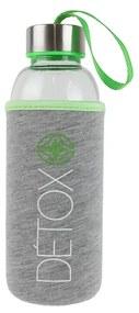 Sticla 35 cl cu husa neopren CMP Detox verde