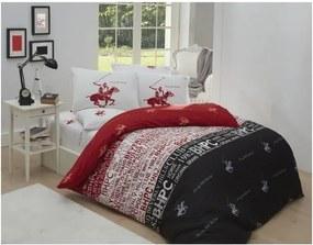 Lenjerie de pat cu cearșaf Beverly Hills Polo Club Godfrey, 200 x 220 cm