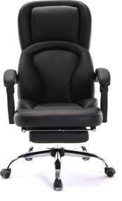 Scaun directorial cu funcție recliner și suport picioare, SIB 091- RESIGILATE