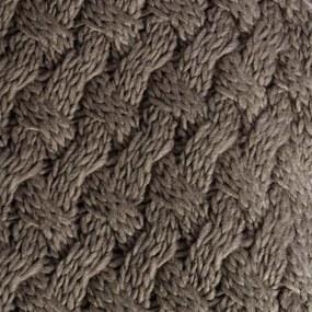 Patura Maro din Material Acrilic 170cm IXIA - Acrilic Maro Lungime (170cm) x Latime (130cm)
