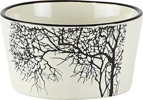 Bol servire din ceramică KJ Collection Tree Nostalgia, 300 ml