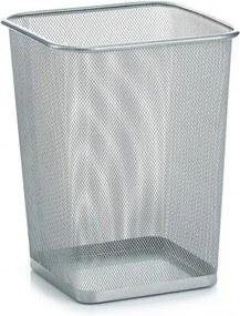 Cos de gunoi din metal pentru birou, Office Gri, l26,8xA26,8xH35 cm