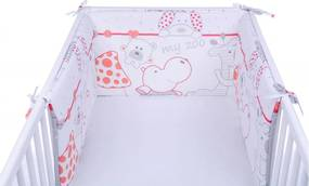 Set 2 aparatoare laterale patut My Little Zoo Red 003