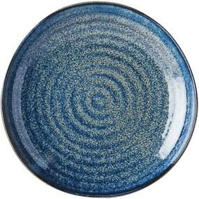 Farfurie din ceramică MIJ Indigo, ø 23 cm, albastru