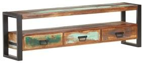 320790 vidaXL Comodă TV, 150x30x45 cm, lemn masiv reciclat