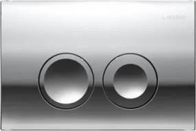 Clapeta actionare Dual-Flush,Geberit Delta 21 pentru rezervor incastrat crom lucios -115 125 21 1